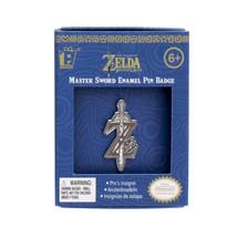 Nintendo The Legend of Zelda Master Sword Logo Badge Enamel Metal Pin NE... - $6.89