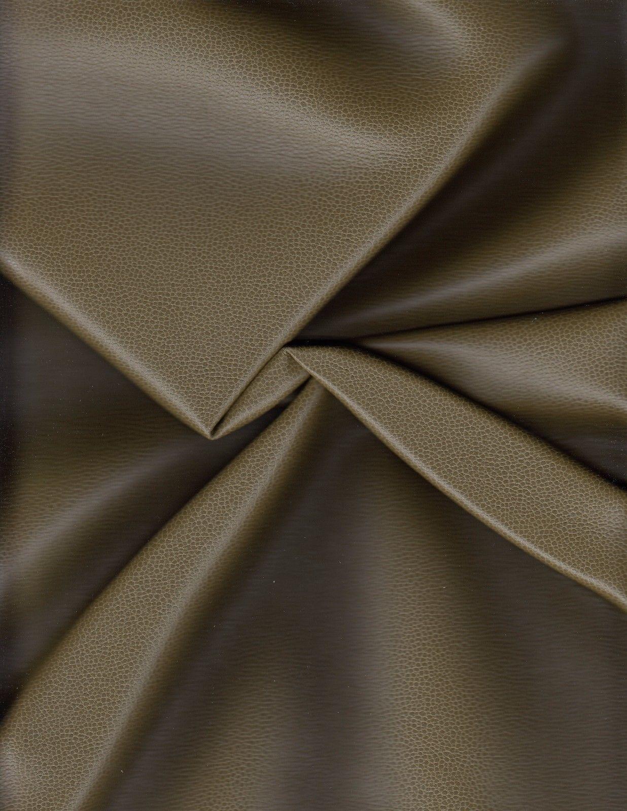 Ultrafabrics Upholstery Faux Leather 363-4514 Promessa Moss Green 2.125 yds T-11