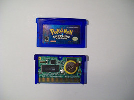 Pokemon Sapphire Version - AUTHENTIC - WITH NEW SAVE BATTERY  - $32.67