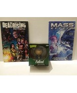 FALL OUT DORBZ BETHESDA FIGURE + MASS EFFECT & DEAD RISING BOOKS - FREE ... - $18.70