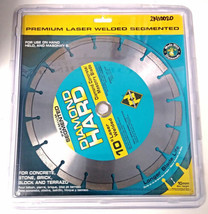 "Planet Diamond 21410020 10"" Premium Segmented Diamond Concrete / Masonry... - $19.80"