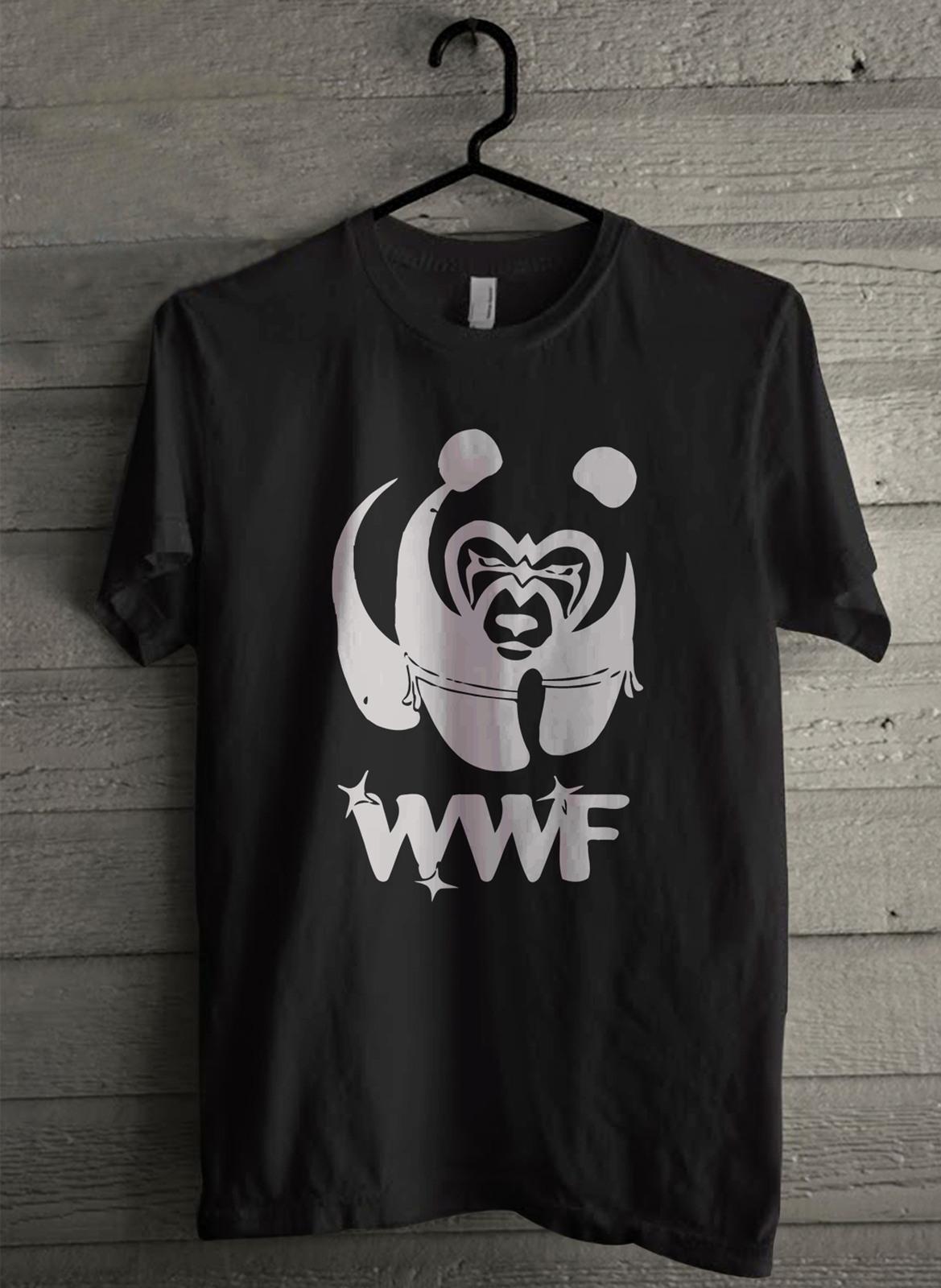 WWF PANDA - Custom Men's T-Shirt (3666)