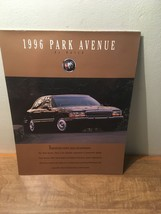 1996 Buick Park Avenue and Ultra Car Sales Brochure Catalog - $19.79