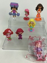Strawberry Shortcake Lot 7pc McDonalds Doll Figures Toppers Toys Ginger ... - $11.83
