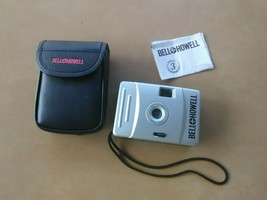 Bell & Howell 28mm Motorized Film Camera w/ Case + Instructions - $12.99