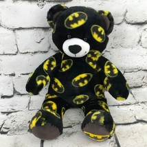 Build A Bear Workshop Bat Man Print Plush Stuffed Animal Soft Toy Teddy ... - $14.84
