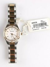 Bulova 22 Diamond Two-Tone Stainless Steel MOP Dial Ladies Watch 98R236 image 6
