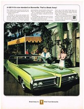 Vintage 1969 Magazine Ad Pontiac 428 V-8 Is Now Standard On Bonneville - $5.93
