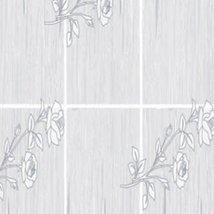 Tartan Flowers- Self-Adhesive Embossed Window Film Home Decor(Roll) - $15.83