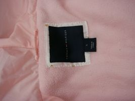 EUC Tommy Hilfiger Little Girls Hooded Puffer Jacket Size 5 Pink image 7
