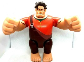 DISNEY Thinkway Wreck It Ralph Movie Plastic Action Figure Moveable Arms... - $8.01