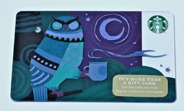Starbucks Holiday 2014 OWL MOON COFFEE $0 Value Gift Card 99 Series New - $7.99