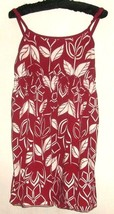 Women's Red Printed Self Bra Top Size L - $5.00