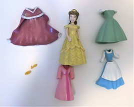 Disney Princess Beauty & The Beast Belle Doll With Clothes Polly Pocket #4 - $13.85