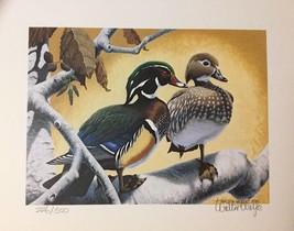 1979 California Duck Stamp Art Print - Walter Wolfe - Ltd Ed 226/500 - $225.00