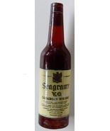 miniature Seagram's whisky bottle plastic dummy advertising premium vint... - $8.00