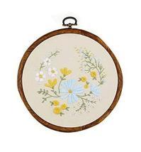 Full Range of Embroidery Starter Kit DIY Handmade Cross Stitch, Blooming... - $17.47