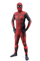 Deadpool Adult Unisex 3D Halloween Costume Lycra Spandex Zentai Deluxe J... - $54.99