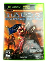 Halo 2 Multiplayer Map Pack Microsoft Xbox Video Game Complete CIB w/Cas... - $12.95