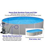 Galaxy Steel Above Ground Pool Kit - 18' Diameter - $1,028.40