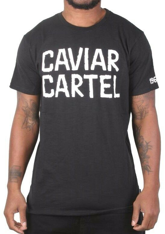 Caviar Cartel SSUR Men's Black White Printed 1969er Tattoo T-Shirt NWT