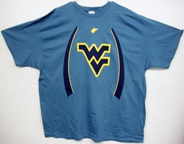 West Virginia Mountaineer's Light Blue T-Shirt Multi Sizes - $13.29+
