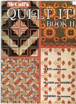 Back Issue of McCall's Quilt It! Book II Magazine Format Quilt Craft Patterns - $4.99