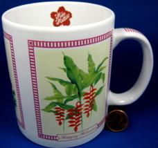 Hawaii Hilo Hattie Souvenir Mug Tropical Flowers Hibiscus More 2005 - $10.00