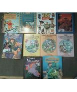 Set 10 DISNEY Toy Story Aladdin Mickey Pooh Villains Monsters Inc Readin... - $24.45
