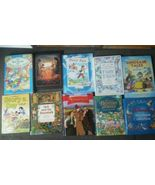 Set 10 Disney Bedtime Dinosaur Tales Peter Pan Story a day Reading book ... - $20.88