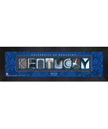 Personalized University of Kentucky Campus Letter Art Framed Print - $39.95