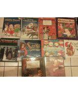 Set 10 kids Christmas Story books Children Hardcover Santa Snowman Winte... - $24.95