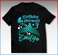 MERMAID Birthday Shirt, MERMAID Birthday T-Shirt, MERMAID - $12.50+