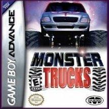 Monster Trucks GBA Nintendo Game Boy Advance Game PreOwned - $7.95