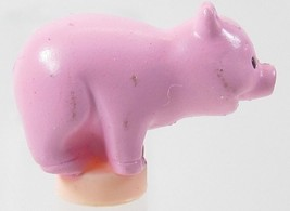 2000 Vintage Polly Pocket Doll Petland (Hacienda)- Pig Large Standing Bl... - $5.00