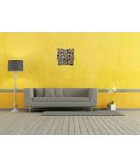 Metal Deco Big Mural Wall Hanging Home Art Decor 9 Jalebbies Indoor Outdoor - $268.99