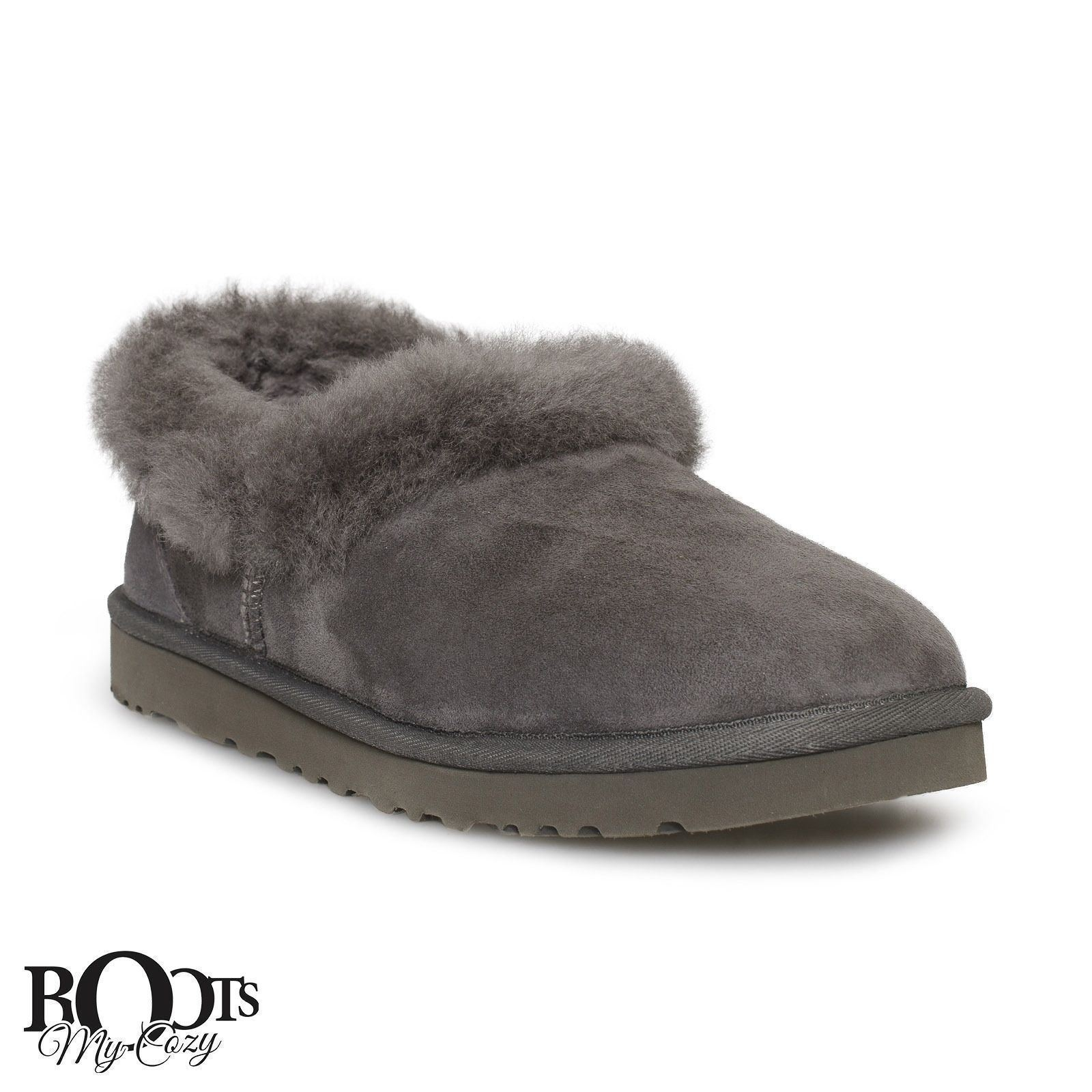 cddd3c9f1f0 Ugg Nita Grey Suede Sheepskin Women's and 50 similar items