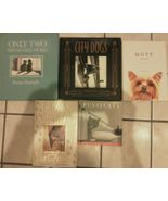 Set 5 Cat Dog Lover Books Hardcover City Dogs Only Two Stories Mutt Mugs... - $14.95