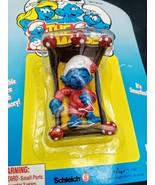 Vintage 1996 Smurf Figure / accessory Moc Peyo / Irwin MOC - $24.74