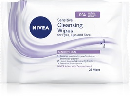 Nivea Sensitive Cleansing Wipes 25 pcs image 1