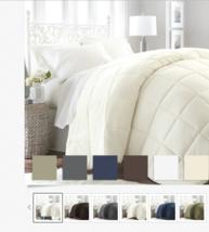 Lightweight Down  Ultra Soft Alternative Comforter -  Beautiful Colors! - $31.99