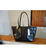 Authentic Dooney & Bourke Large Maxine Tote Espresso Black New with Tag - $188.09
