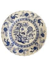 "Johnson Bros England Ironstone ~ Blue Nordic Dessert Plate ~ 6 1/8""   - $4.95"