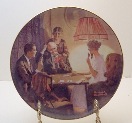 This is the Room that Light Made-Rockwell Plate