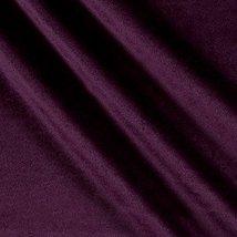 Ben Textiles Royal Velvet Plum Fabric by the Yard image 2