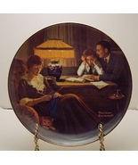 Father's Help-Rockwell Plate - $25.00