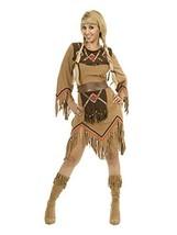 Charades Women's Sacajawea Indian Maiden Costume Set, Tan, Small - $56.86
