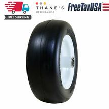 Marathon 11x4.00-5 inch Flat Free Tire on Wheel 5 inch Hub 1/2inch Beari... - $46.21