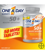 One A Day Women's 50+ Healthy Advantage 200 Tablets - Multi Vitamin for ... - $27.99