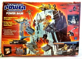 Captain Power Power Base The Soldiers Of The Future Military Fortress Ma... - $229.99